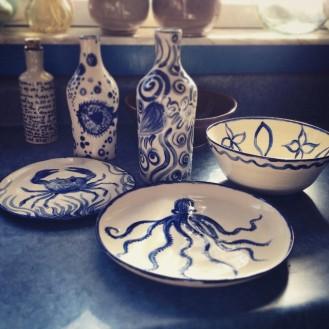 Cobalt glazes